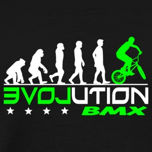 EVOLUTION BMX - Herre premium T-shirt