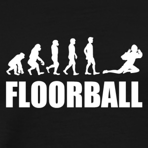 Floorball Målmand Evolution - Herre premium T-shirt