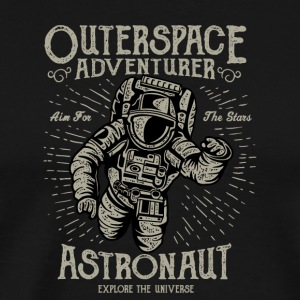 Space Adventure Astronaut Gift Christmas - Premium-T-shirt herr