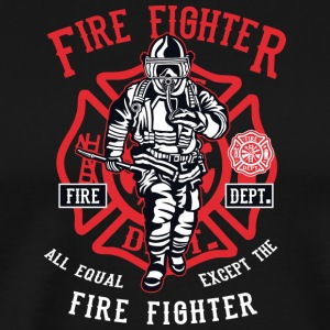 Firefighter Firefighter Firefighter Christmas - Men's Premium T-Shirt