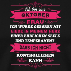 Gift Love I'm Ms OKTOBER - Men's Premium T-Shirt