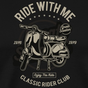 Ride With Me - Premium-T-shirt herr