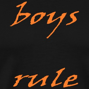 boys rule - Men's Premium T-Shirt