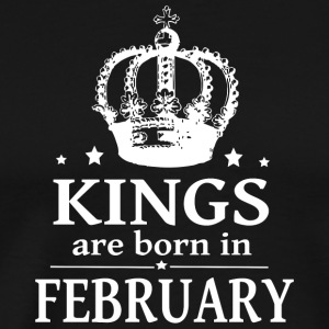 February King - Men's Premium T-Shirt