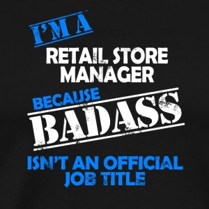 Retail store manager - Men's Premium T-Shirt