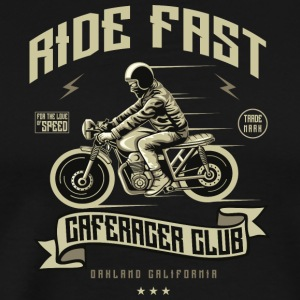 ride Fast - Premium T-skjorte for menn