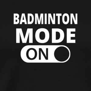MODE ON BADMINTON - Premium-T-shirt herr