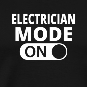 MODE ON ELEKTRIKER - Herre premium T-shirt