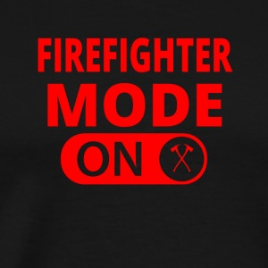 MODE ON FIREFIGHTER fire brigade - Men's Premium T-Shirt