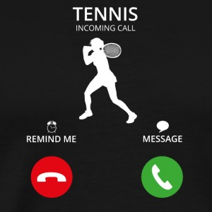 Call Mobile Call tennis star wimbledon - Men's Premium T-Shirt