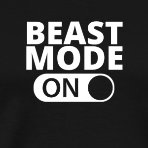 MODE ON Beast bodybuilding - Männer Premium T-Shirt