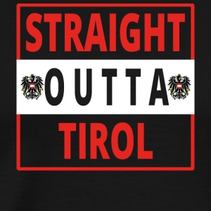 Straight outta Tirol - Men's Premium T-Shirt