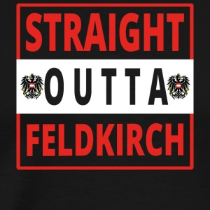 Straight outta Feldkirch - Men's Premium T-Shirt