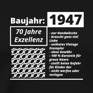 Year of construction 1947 - Men's Premium T-Shirt