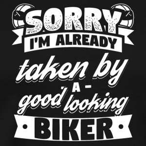 Biker Already Taken Shirt - Men's Premium T-Shirt