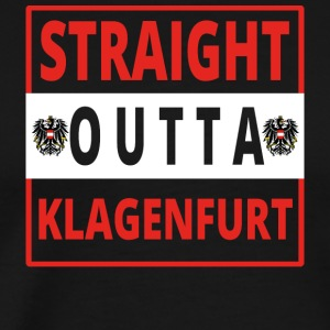 Straight outta Klagenfurt - Men's Premium T-Shirt