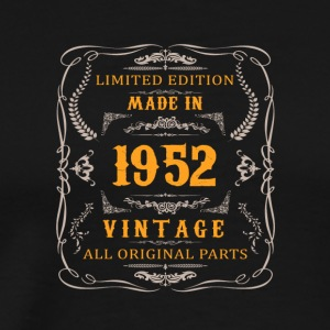 1952 Birthday Vintage - Men's Premium T-Shirt