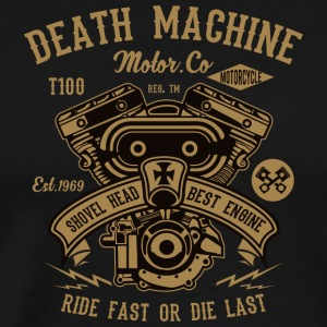 Death Machine2 Motor Petrol Christmas Gift - Men's Premium T-Shirt