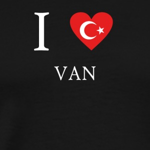 Love Tuerkiye Turkey VAN - Men's Premium T-Shirt