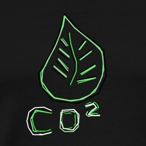 co2 - Premium-T-shirt herr