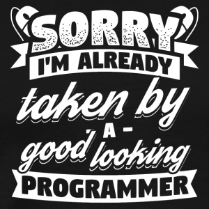Developer Programmer Already Taken Shirt - Männer Premium T-Shirt