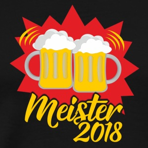 Master 2018 - Beer with you! - Men's Premium T-Shirt