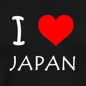 I Love JAPAN - Men's Premium T-Shirt
