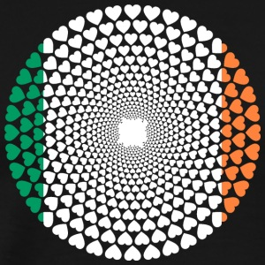 Ireland / Ireland / Lire Love HEART Mandala - Men's Premium T-Shirt