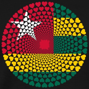 TOGO LOVE HEART MANDALA - Men's Premium T-Shirt