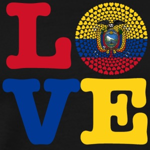 ECUADOR HEART - Men's Premium T-Shirt