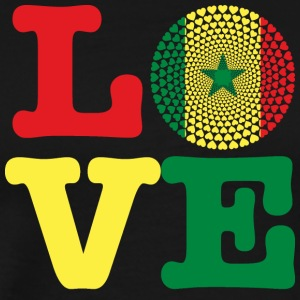 SENEGAL HEART - Men's Premium T-Shirt