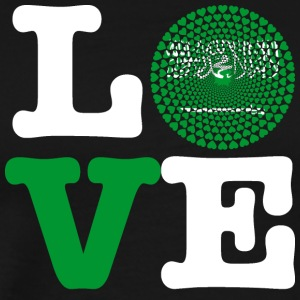 SAUDI ARABIA HEART - Men's Premium T-Shirt