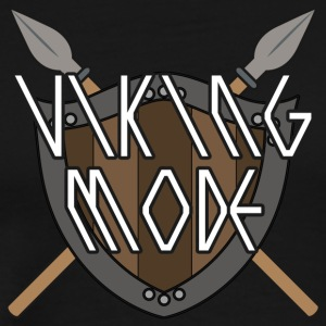 Vikings: Viking Mode - Premium-T-shirt herr