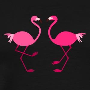 Flamingos for Spread shirts - Herre premium T-shirt
