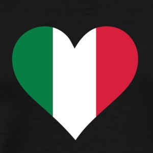 A Heart For Italy - Men's Premium T-Shirt