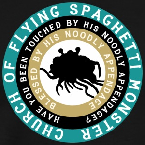 Pastafarian IGURCH OF FLYING SPAGHETTI MONSTER - T-shirt Premium Homme