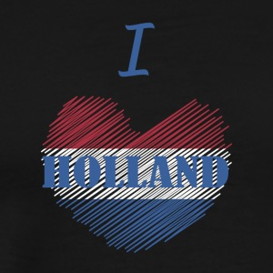 I love Holland I love Dutch - Men's Premium T-Shirt