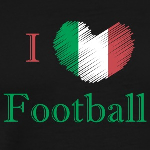 Football fan Italy - Men's Premium T-Shirt