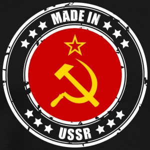 Made in USSR - Premium T-skjorte for menn