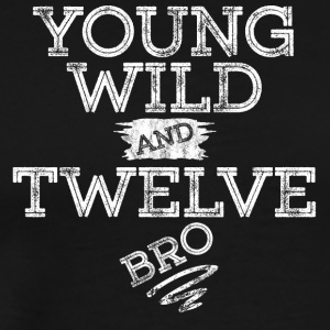 YOUNG WILD AND TWELVE T-SHIRT - Men's Premium T-Shirt