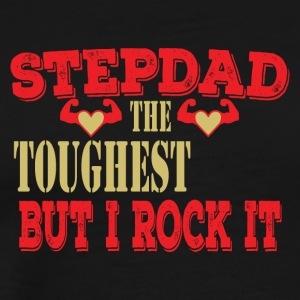 Stepdad Toughest Mais je rock il Stepson aime Pops - T-shirt Premium Homme