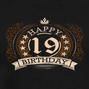 19th birthday - Men's Premium T-Shirt