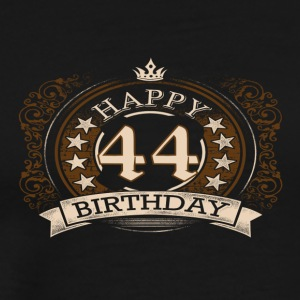 44th birthday - Men's Premium T-Shirt