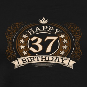 37th birthday - Men's Premium T-Shirt