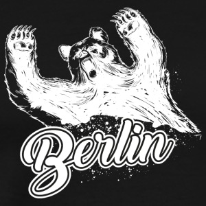 Berlin and the bear - Men's Premium T-Shirt