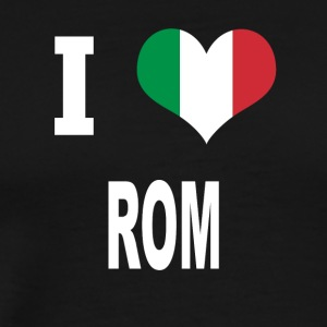 I Love Italy ROME - Men's Premium T-Shirt