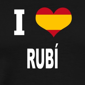I Love Spain RUBI - Men's Premium T-Shirt