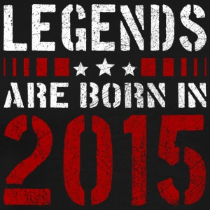 LEGENDS ARE BORN IN 2015 BIRTHDAY CHRISTMAS SHIRT - Männer Premium T-Shirt