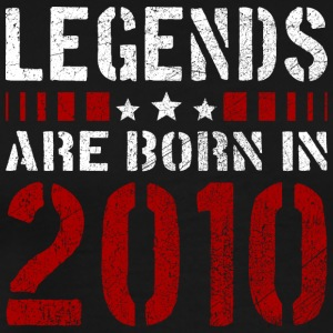 LEGENDS ARE BORN IN 2010 BIRTHDAY CHRISTMAS SHIRT - Männer Premium T-Shirt
