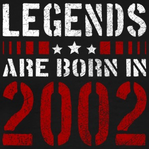 LEGENDS ARE BORN IN 2002 BIRTHDAY CHRISTMAS SHIRT - Men's Premium T-Shirt